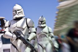 There's a Star Wars day at Comic-Con, which involves Stormtroopers marching through the convention center.