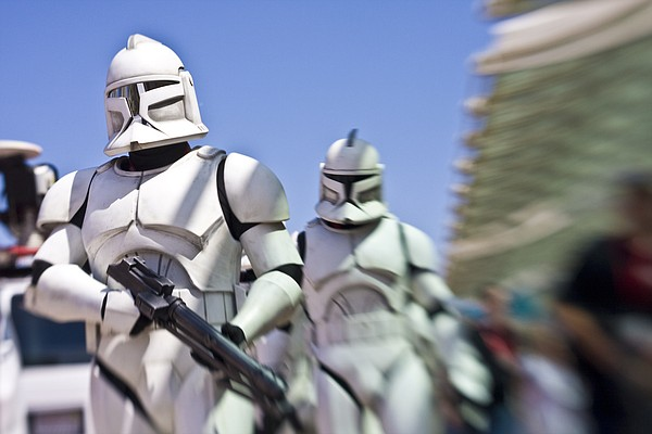 There's a Star Wars day at Comic-Con, which involves Stor...