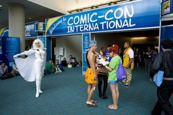 This is the 44th Comic-Con. Tickets to the 4-day convention sold out in February.