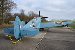 The spitfire, North Weald Airfield, Epping.