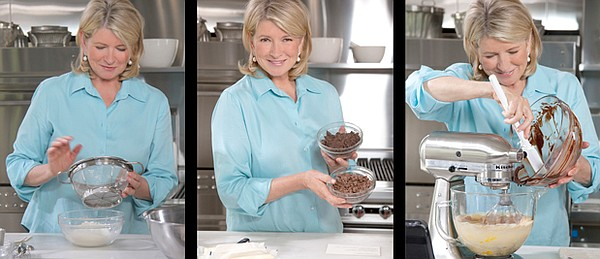 Martha Stewart shares the best baking tips and techniques...