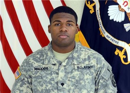 Army Spc. Anthony R. Maddox