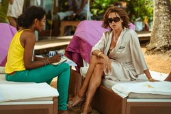 Sara Martins as Camille and Cherie Lunghi as Jayne Smythe.