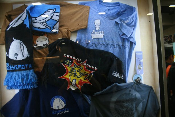 Gaming at Comic-Con can also include all kinds of merchandise directly and indirectly related to games.