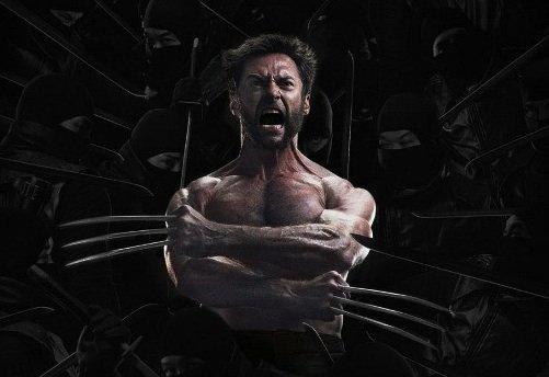 """One of the multiple Asian-inspired posters for Marvel's """"The Wolverine."""""""
