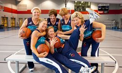 The Tigerettes, 65+ basketball champions.