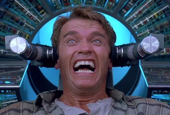 "In Total Recall, Arnold Schwarzenegger's character tries to buy an artificial memory of a Martian vacation. Now, science has made such ""memory implants"" possible. But only in mice. And instead of a vacation, the memories bring back the sting of an electric shock."