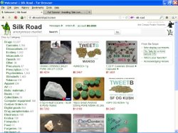 Hackers used a hidden online black market called Silk Road to buy drugs inten...