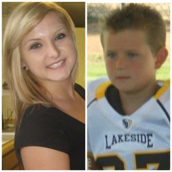 Hannah Anderson, 16 (L) and her brother, Ethan Anderson, 8, were allegedly ab...