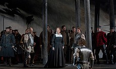 Joyce DiDonato as the title character of Donize...