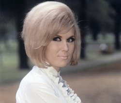 Late British pop-soul singer Dusty Springfield performs her classic hit