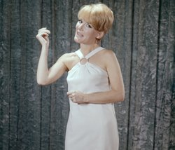 International singing star Petula Clark presents her #1 hit from 1965