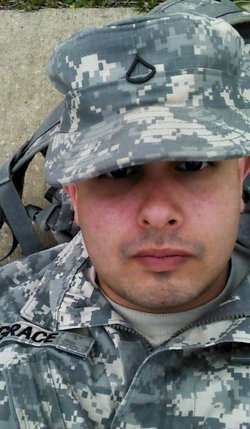 Spc. Keith E. Grace Jr.