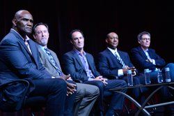 "During PBS' FRONTLINE ""League Of Denial: The NFL's Concussion Crisis"" session..."