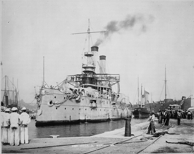 Torpedo Found By Navy Dolphins Was Shot From USS Iowa In
