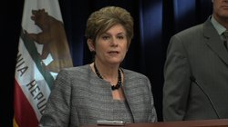 District Attorney Bonnie Dumanis speaks to the media, Aug. 20, 2013.