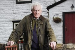 Alan (Derek Jacobi) at Far Slack Farm.