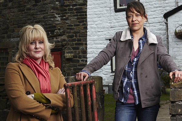 Caroline (Sarah Lancashire) and Gillian (Nicola Walker) a...