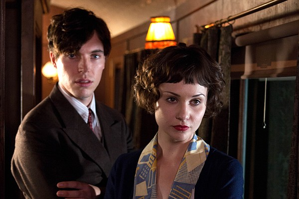 Tom Hughes as Max and Tuppence Middleton as Iris Carr. A ...