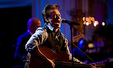 John Mellencamp performs in the East Room of the White House, 2010.