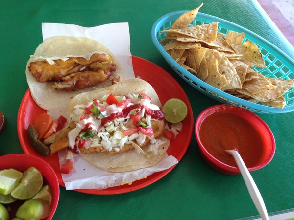 The fish tacos in San Felipe, Mexico, where Rubio's founder Ralph Rubio got t...