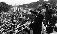 Martin Luther King, Jr., The March on Washington 1963.