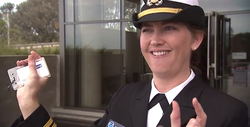 Lt. Fionna Matheson of the NOAA Corps talks about the advantages of the ocean...