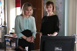 DC Janet Scott (Lesley Sharp) and DCI Gill Murray (Amelia Bullmore).