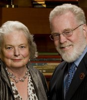 KPBS Hall of Fame - Visionaries Dr. Stephen Weber, SDSU President Emeritus and Mrs. Susan Weber.