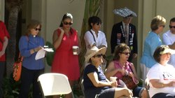 Spectators at the third annual Labor Day rally in Escondido, Sept. 2, 2013.