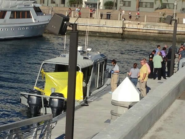 Navy security boat where shooting took place