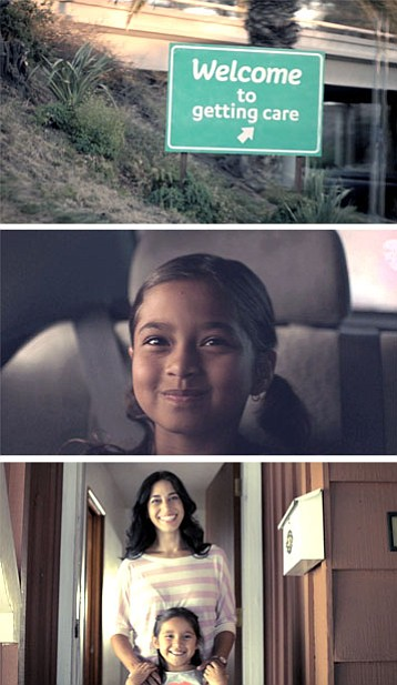 One of the inaugural television ads introduces viewers to...