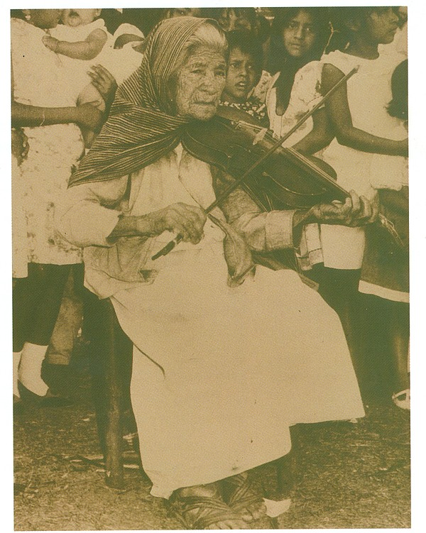 Rosa Quirino who began playing at 13 years of age in 1903. She is the first w...
