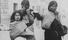 Three women in Mexico City, Mexico, 1911.