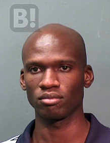 Mugshot of Aaron Alexis from 2010 arrest.