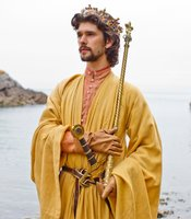 "Ben Whishaw as Richard II in THE HOLLOW CROWN ""Richard II."""