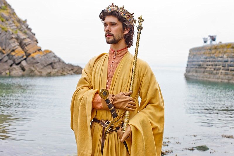 "Ben Whishaw as Richard II in THE HOLLOW CROWN ""..."