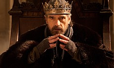 Jeremy Irons as King Henry IV in THE HOLLOW CRO...
