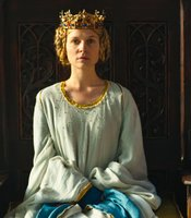 "Clémence Poésy as Queen Isabella in THE HOLLOW CROWN ""Richard II."""