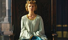 Clémence Poésy as Queen Isabella in THE HOLLOW ...