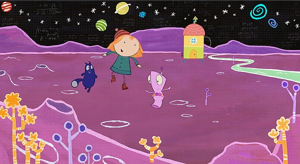 Peg and Cat's adventures take them through worlds of infi...
