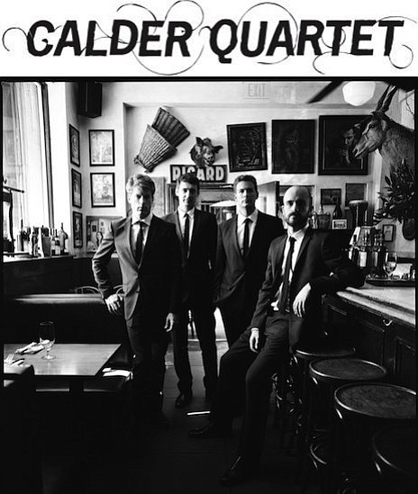 The Calder Quartet are the founding artists-in-residence at the Carlsbad Musi...