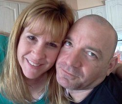 Sgt. William D. Brown III with his wife.
