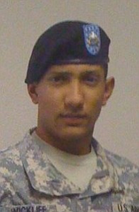 Spc. James T. Wickliff-Chacin