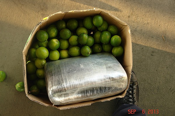 CBP officers at the Otay Mesa commercial port of entry discovered 1,623 pound...