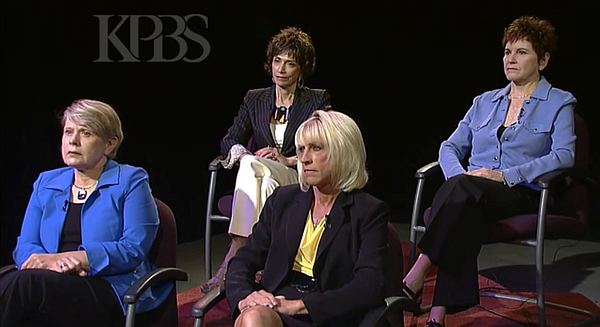 Four prominent women in San Diego speak publicly about the unwanted sexual ad...