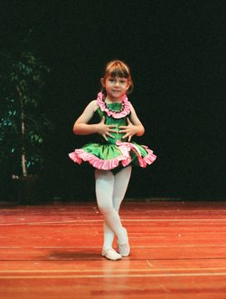Zahna Moss has been dancing since she was five years old. She's been deaf since birth.