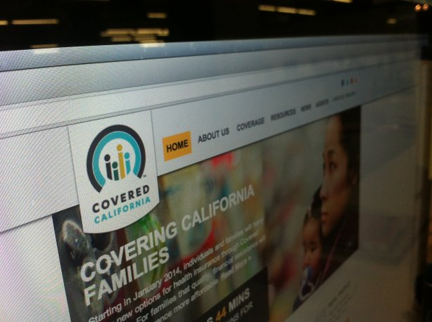 The state's online health insurance exchange Covered California.