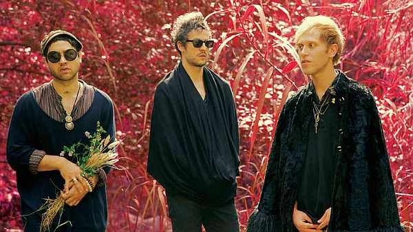 Psychedelic pop band Unknown Mortal Orchestra performs at...