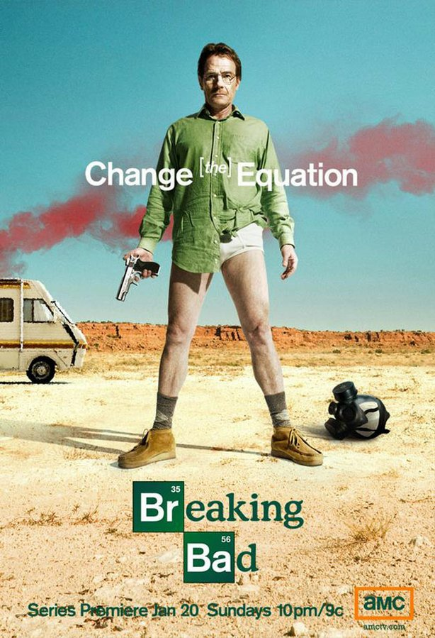 "The launch campaign for ""Breaking Bad."""